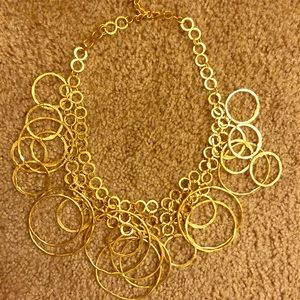 Bebe Hoop necklace